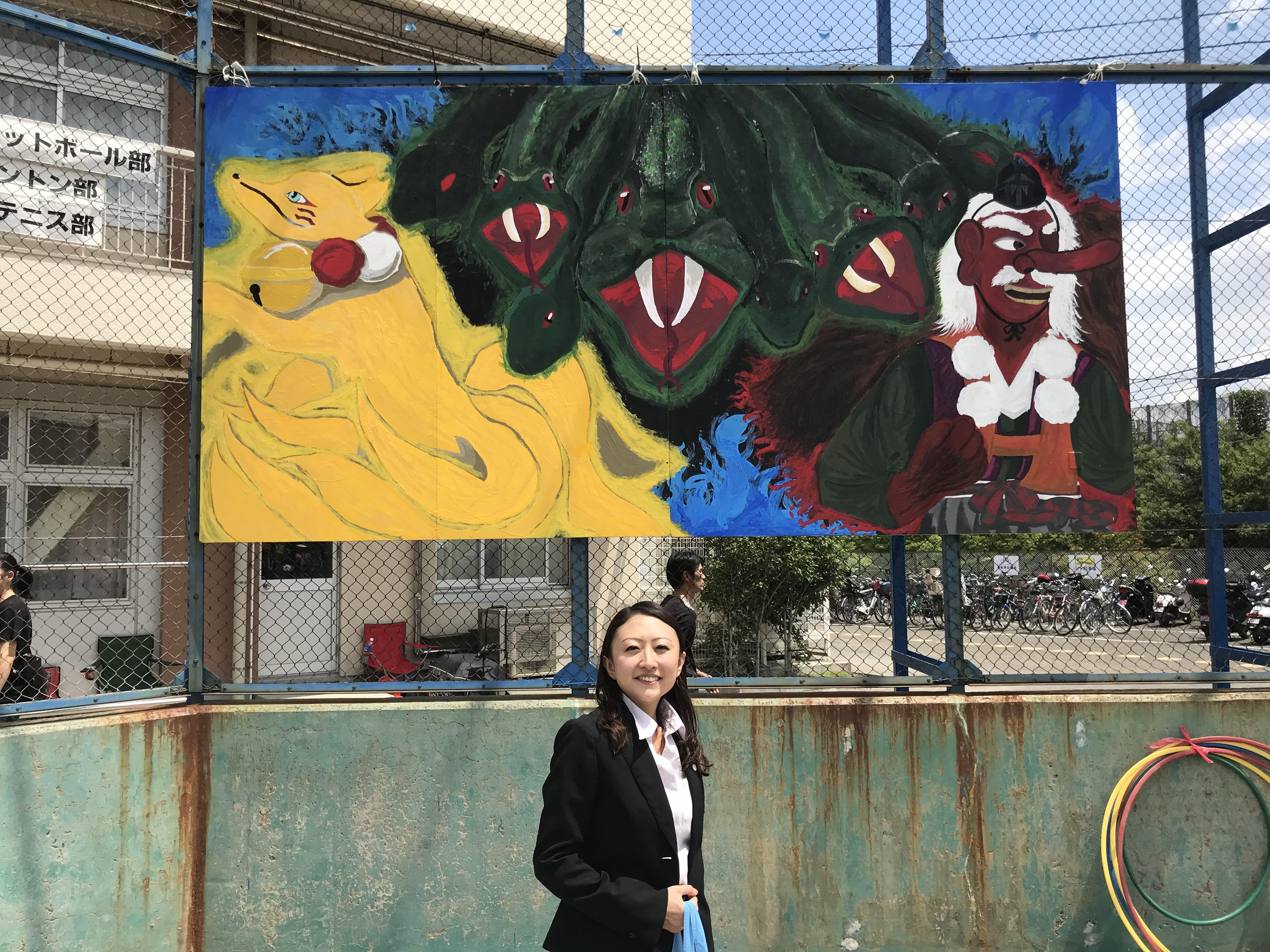 山崎中学校、木曽中学校体育祭&ウィズ町田(赤い屋根)さんのお祭り